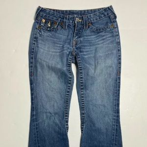 True Religion Joey Women Size 29 Jeans Bootcut
